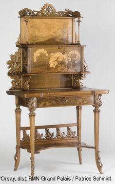 Emile Gallé, Umbellules, © Musée d'Orsay