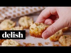 Baking Crab Cake Bites Video — Crab Cake Bites Recipe How To Video Best Holiday Appetizers, Appetizers For Party, Appetizer Recipes, Holiday Recipes, Easiest Appetizers, Seafood Recipes, Cooking Recipes, Mini Crab Cakes, Cake Bites