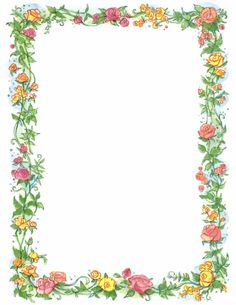 Free Butterfly Borders Clip Art | Floral Butterfly Border ...
