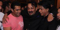 Shahrukh and Salman Hug It Out