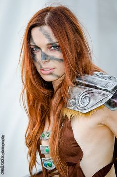 Aela the Huntress cosplayed by Chloe Dykstra by The.Erik.Estrada, via Flickr