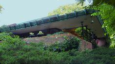 John E. Christian House/ Samara. 1954. West Lafayette, Indiana. Frank Lloyd Wright. Usonian.