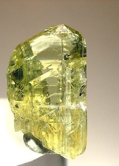 Zoisite, first known as saualpite, after its type locality, is a calcium aluminium hydroxy sorosilicate belonging to the epidote group of minerals. Its chemical formula is Minerals And Gemstones, Rocks And Minerals, Natural Gemstones, Calcite Crystal, Mineral Stone, Rocks And Gems, Gems Jewelry, Stones And Crystals, Healing Crystals