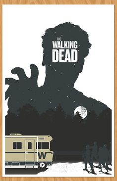 The Walking Dead...I want this for my bedroom.