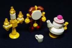 beauty and the beast lego. I must find these! beauty and the beast lego. I must find these! Lego Tv, Lego Duplo, Lego Disney, Disney Fun, Dibujos Toy Story, Princess Tea Party, Princess Leia, Micro Lego, Lego Club