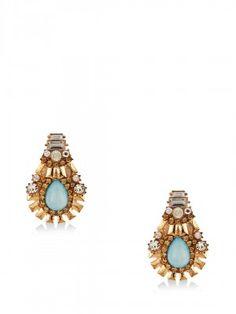 Youshine for Women - Buy Online Women Youshine in India at Koovs Earrings Online, Stud Earrings, Stone, Jewelry, Women, Rock, Jewlery, Jewerly, Stud Earring
