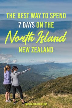 We'll skip the part where we tell you that seven days on the North Island is not long enough and make you an unforgettable itinerary to make the most of the time that you have… Visit New Zealand, New Zealand Travel, Drive Time, Learn To Surf, South Island, Activities To Do, Travel Alone, Rafting, Travel Inspiration