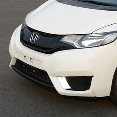 Find More Stickers Information about ABS stainless steel front fog lamp… Honda Fit, Automobile, Abs, Stainless Steel, Bright, Stickers, Decoration, Cover, Fitness