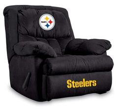 Use this Exclusive coupon code: PINFIVE to receive an additional 5% off the Pittsburgh Steelers Home Team Recliner at SportsFansPlus.com