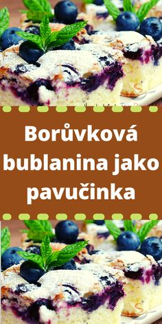 Czech Recipes, Sweet Desserts, Amazing Cakes, Cheesecake, Sweet Home, Food And Drink, Sweets, Meat, Chicken