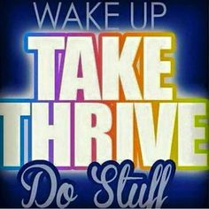 Lobe waking up to take my thrive. All day energy is the best..