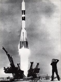 Launch of the Progress 5 expendable freighter spacecraft, carrying supply to the Salyut 6 space station.