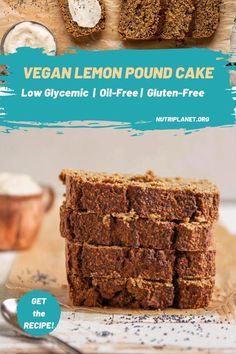 Learn how to make refined sugar free, oil-free and gluten-free vegan lemon pound cake with poppy seeds and vegan lemon custard cream. Suitable on Candida diet. #veganlemonpoundcake #veganpoundcake #veganpoundcakerecipe #veganoilfreepoundcake #veganpoundcakeeasy #veganlemonpoppyseedpoundcake #veganlemonpoundcakerecipe #veganglutenfreepoundcake #dairyfreepoundcake #nobutterpoundcake Vegan Pound Cake Recipe, Gluten Free Pound Cake, Gluten Free Desserts, Vegan Desserts, Vegan Gluten Free, Vegan Recipes Videos, Best Vegan Recipes, Whole Food Recipes, Vegan Lunches