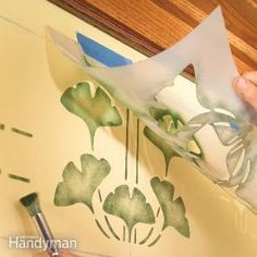 With our basic stenciling techniques, you'll be able to create everything from a simple stenciled border to more complex patterns that will add a dramatic flourish to any room in your house. Even if you don't consider yourself artistic, we'll show you how to use stencils to create unique works of art using only a paint brush and a tape measure.