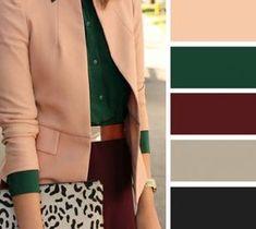 20 combinaisons de couleurs chaudes pour votre garde robe dautomne womens fashion that i love - The world's most private search engine Colour Combinations Fashion, Color Combinations For Clothes, Fashion Colours, Colorful Fashion, Color Combos, Color Schemes, Warm Colors, Green Colors, Summer Colors