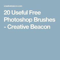 20 Useful Free Photoshop Brushes - Creative Beacon