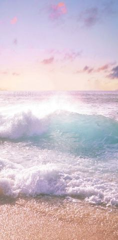 Beach in pastell colors - Ocean - Wallpaper Strand Wallpaper, Ocean Wallpaper, Nature Wallpaper, Tropical Wallpaper, Wallpaper Quotes, Amazing Photography, Landscape Photography, Nature Photography, Tropical Tattoo