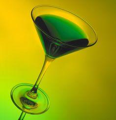 Shamrock Martini #StPatricksDay