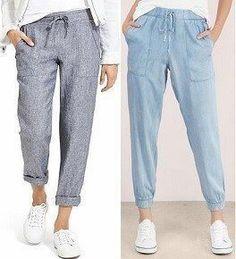 Cotton And Linen Casual Loose Strap Wide-Leg Pants Jumpsuit Linen Trousers, Pants For Women, Clothes For Women, Dress Sewing Patterns, Pants Pattern, Muslim Fashion, Sewing Clothes, Fashion Pants, Sporty Fashion