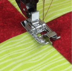 Stitch-in-the-Ditch Presser Foot for Sewing Machines - snap-on – MadamSew