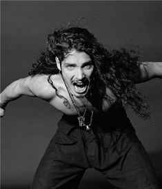Chris Cornell, photograph by Jesse Frohman Say Hello To Heaven, Temple Of The Dog, Taylor Momsen, Eddie Vedder, Pearl Jam, Most Beautiful Man, Beautiful People, Celebs, Celebrities