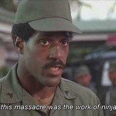 American Ninja, 1985 #actionmovie #americanninja #ninja #cannonfilms #80smovies #thepopcornomicon