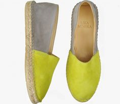 NEON GREY  Multi Leather  Espadrilles