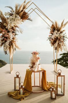 Phuket Wedding Planner | Wedding Boutique | Luxury Wedding Villa Phuket Phuket Wedding, Greece Wedding, Destination Wedding, Wedding Stage Design, Wedding Designs, Wedding Staircase, Villa Phuket, Neutral Wedding Colors, Rustic Boho Wedding