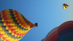 hot air balloons. albuquerque, new mexico - actually, my first and only balloon ride was with Rainbow Ryders!