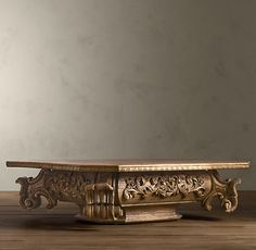 love this table--Restoration Hardware--Baroque Capital Coffee table