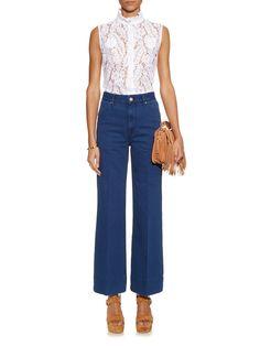 High-waisted flared jeans | Isabel Marant Étoile | MATCHESFASHION.COM UK