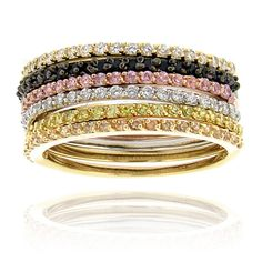 #rings #pinkandblack