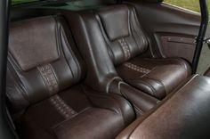 1969 Chevrolet Camaro - One Son Of Anarchy. 1969 CHEVROLET CAMARO CUSTOM TWIN TURBO RSSS pro touring orange black fesler built door panels console seat grommets  brown rivets