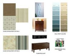 Interior Design Mood Board Template