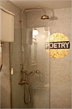 Poetry, indeed. Via the amazing ladies at desire to inspire - desiretoinspire.net - Reader request - small bathrooms