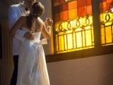 copyright Lauramayzing Photography. find us on facebook first dance wedding window