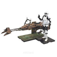 Star Wars Bandai 1/12 Plastic Model : Scout Trooper & Speeder Bike – HYPETOKYO