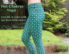 Check out our NEW selection of Yoga Leggings and Capris.  Hand selected exotic fabrics made in San Francisco, CA  USA Sweat in Style!!