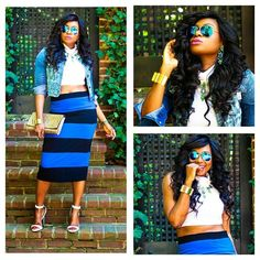 African Fashion Bloggers Net @africanfashionbloggers | Websta (Webstagram) Embrace your inner diva.  We love this look by Ms. Sole of @lovelifepearls  #fashionbloggers #instabeauty #instafashion #ootd #instagood #instastyle #styledaily #streetstyle #sunglasses #denim #African #bags #accessories #beauty #classy #africanfashionbloggers #clutch