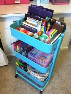 Nicely organised. Really want one but I think my one year old will dismantle it.