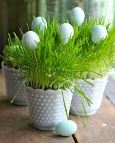 Adorable and Easy centrepiece for your Easter table!~