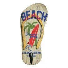 """Patère murale en forme de tong """"Beach"""" - TAC05"""