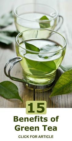 Studies have found an association between consuming green tea and a reduced risk for several cancers, including, skin, breast, lung, colon, esophageal, and bladder. Here are 15 Health Benefits of Green Tea - Selfcarers