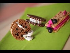 Perler Bead Cord Organizers - YouTube. So cute, easy, & useful!