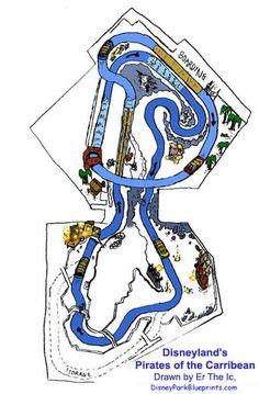 Disney Park Blueprints: Pirates of the Caribbean DL