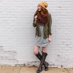 Killing That Street Chic Slay all day with these great pieces you can mix and match with any look! www.shopelysian.com The Ultimate Beanie in Camel $18. online  in-store. Coffee Date Infinity Scarf in Chocolate $22. In store only.  Allison Button Up Top $46. online  in-store. Hayes French Terry Tunic $42. online  in-store.  @bedstu Black Lux Tall Boot $320. In store only. #WearElysianDaily http://ift.tt/2hxE10F Killing That Street Chic Slay all day with these great pieces you can mix and…