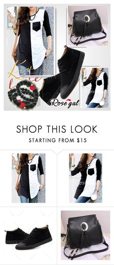 """// Rosegal-Women Style// 47/I"" by nura-akane ❤ liked on Polyvore"