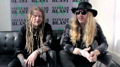"""Jonne Järvelä and Kalle """"Cane"""" Savijärvi discuss the title of the latest Korpiklaani album Noita"""