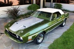 1973 Ford Mustang 351 Ram Air Convertible