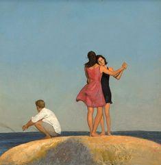 Bo Bartlett, Psy Art, A Level Art, Soul Art, Airbrush Art, Art Hoe, It Goes On, Figurative Art, Art World